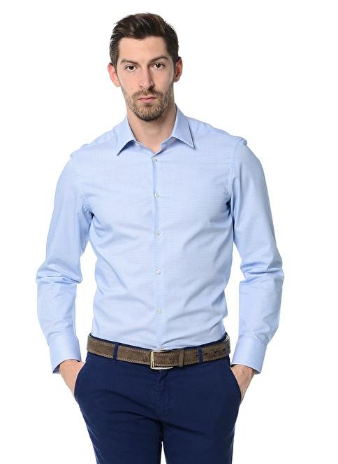 Ramsey Klasik Gömlek Mavi